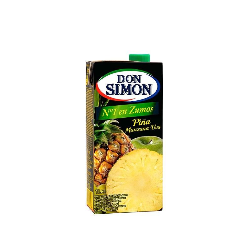 ZUMO PINA Y UVA DON SIMON 1 L.