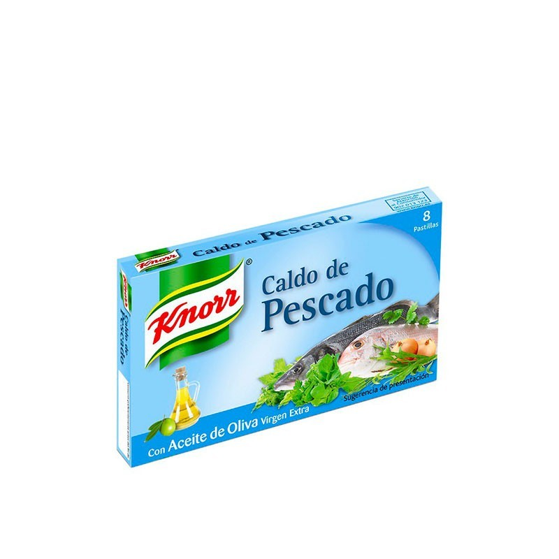 CALDO PESCADO KNORR (12 PAST.)