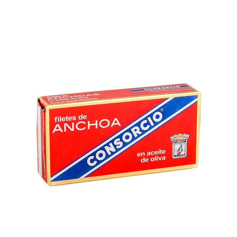 ANCHOAS CONSORCIO EN ACEITE...